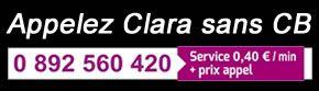 Appel Voyante Clara