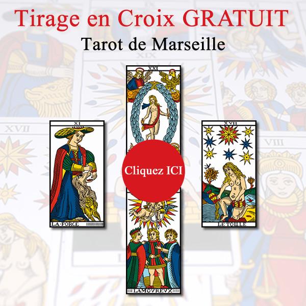 Tirage tarot de Marseille gratuit